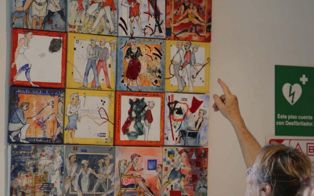 Panel de pinturas